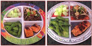 Japanese bento dinner