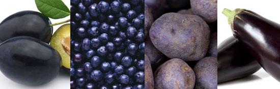 Blue foods